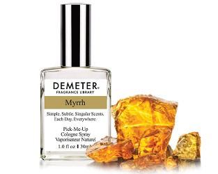 Demeter Myrrh ~ new fragrance