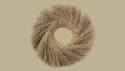 vetiver wreath