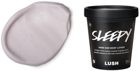 Lush Sleepy Hand and Body Lotion & Serendipity Soap ~ scented body product reviews