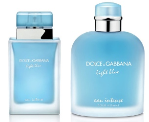 Dolce & Gabbana Light Blue Eau Intense ~ new fragrances