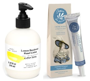 &OtherStories Lemon Daydream Hand Lotion and Graine de Pastel Organic Hand Cream
